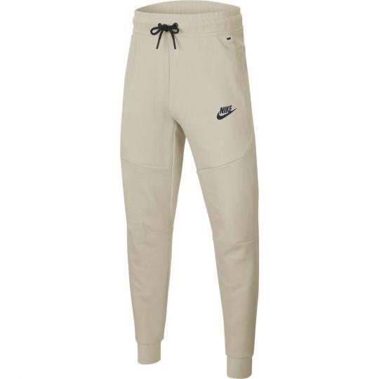 Nike Tech Fleece Broek Kids Beige Zwart
