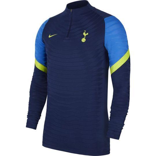 Nike Tottenham Hotspur Elite Drill Trainingstrui 2021-2022 Donkerblauw Blauw Geel