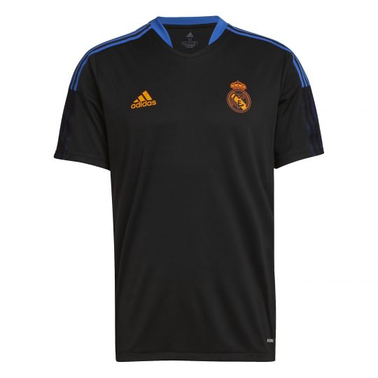 adidas Real Madrid Trainingsshirt 2021-2022 Zwart
