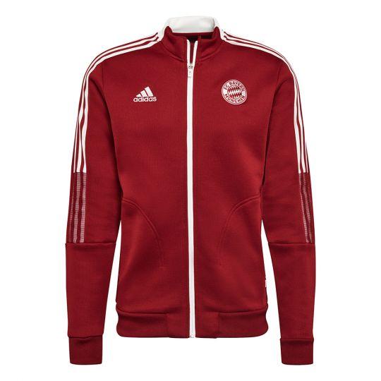 adidas Bayern Munchen Anthem Trainingsjack 2021-2022 Rood