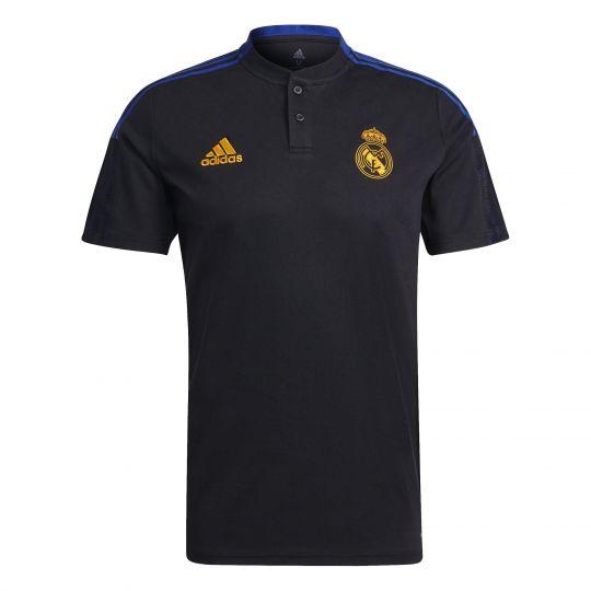 adidas Real Madrid Polo 2021-2022 Zwart