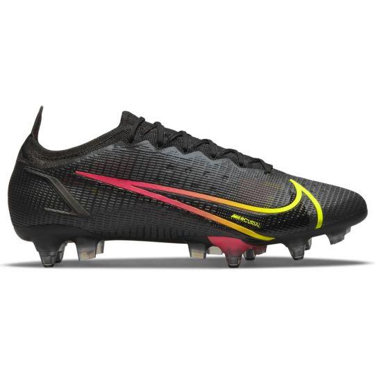 Nike Mercurial Vapor 14 Elite Ijzeren-Nop Voetbalschoenen Anti-Clog (SG) Zwart Geel