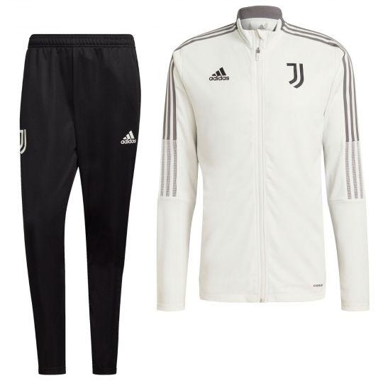 adidas Juventus Trainingspak 2021-2022 Wit