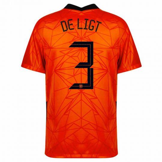 Nike Nederland De Ligt 3 Thuisshirt 2020-2022