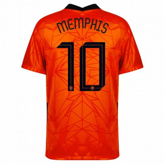 Nike Nederland Memphis 10 Thuisshirt Kids 2020-2022