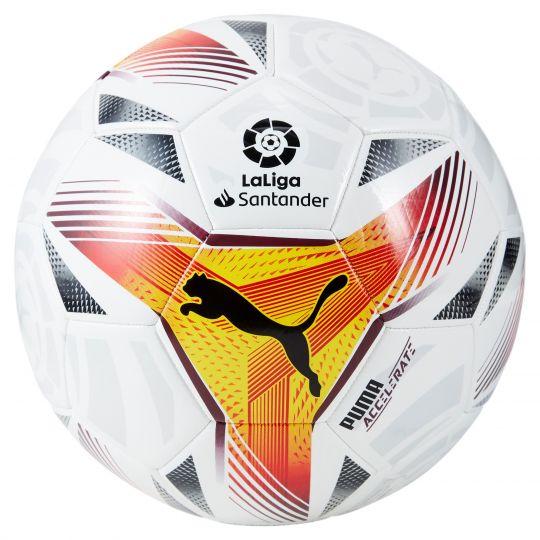 PUMA LaLiga 1 Accelerate Mini Voetbal Maat 1 Wit Multi