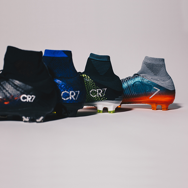 Nike CR7 Mercurial Chapter 1 t/m 4